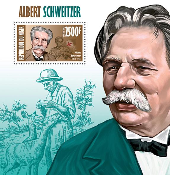 Alber Schweitzer - Issue of Niger postage stamps
