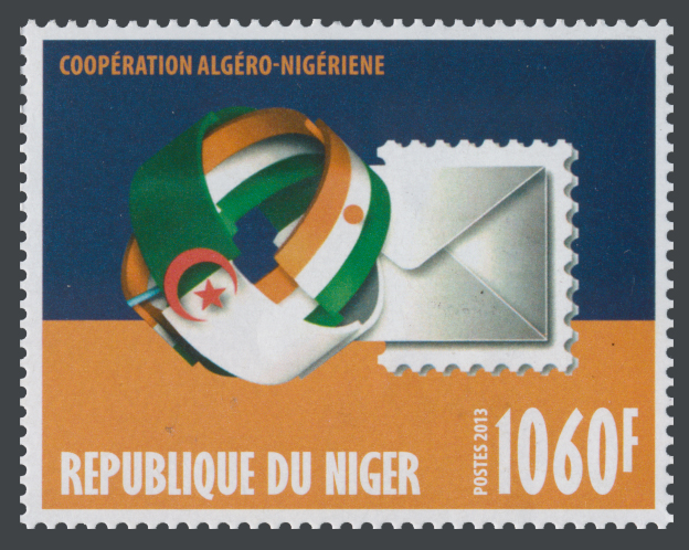 Cooperation Algeria - Niger - Issue of Niger postage stamps
