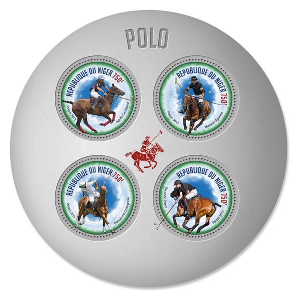 Polo - Issue of Niger postage stamps