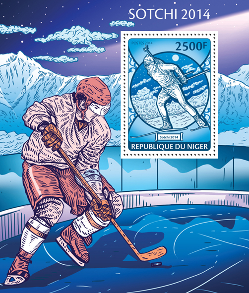 Sochi 2014  - Issue of Niger postage stamps
