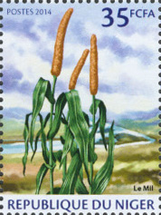 Millet 1v - Issue of Niger postage stamps