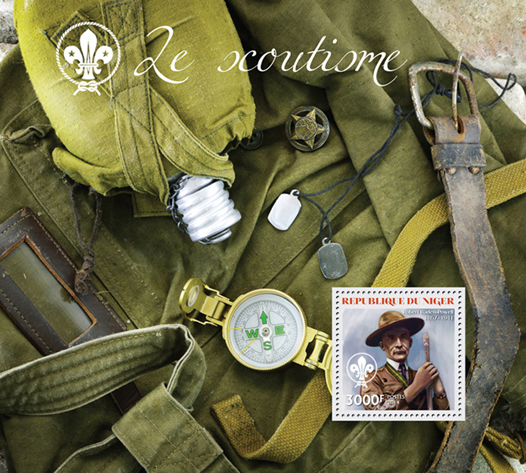 Scouting - Issue of Niger postage stamps