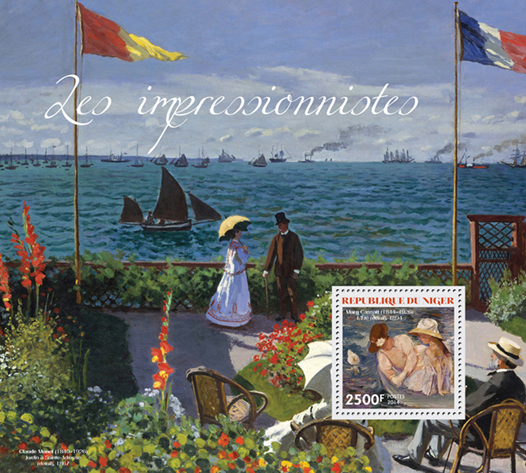 Impressionists - Issue of Niger postage stamps