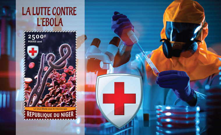 Ebola - Issue of Niger postage stamps