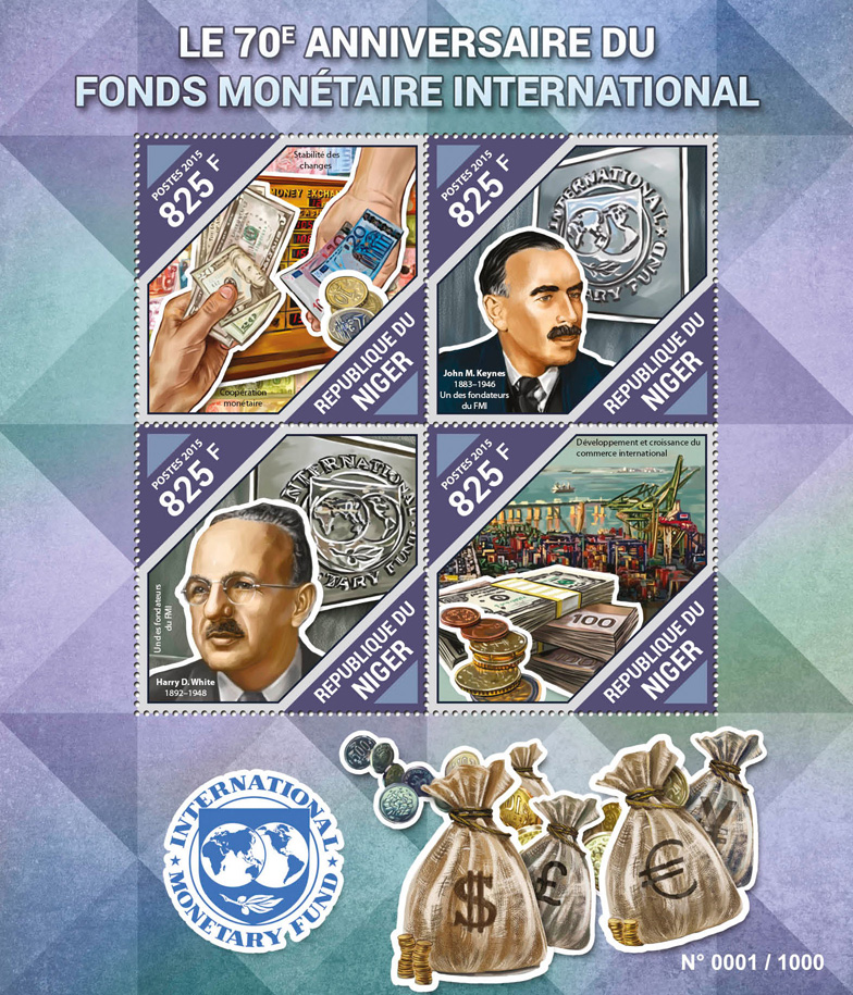 International monetary fund - Issue of Niger postage stamps
