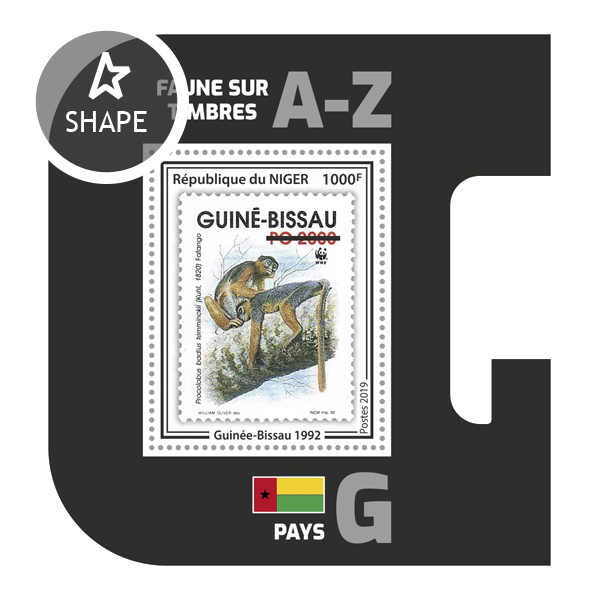 Stamps on stamps SS 10 - Issue of Niger postage stamps