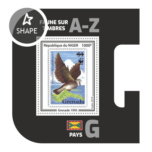 Stamps on stamps SS 11 - Issue of Niger postage stamps