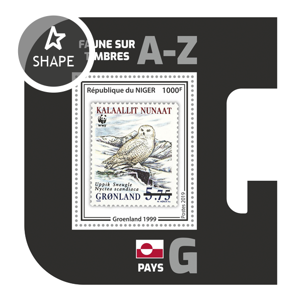 Stamps on stamps SS 12 - Issue of Niger postage stamps